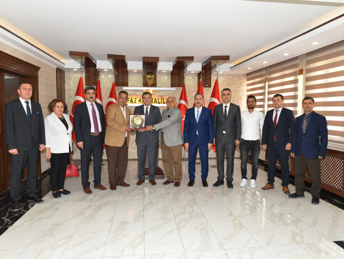 Ahilik Kültür Haftası İl Kutlama Komitesinden Valiye  Ziyaret 16/09/2019