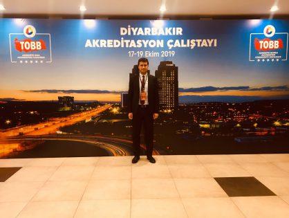 Borsamız, Diyarbakır Akreditasyon Çalıştayı'na Katıldı. 17-19-10-2019