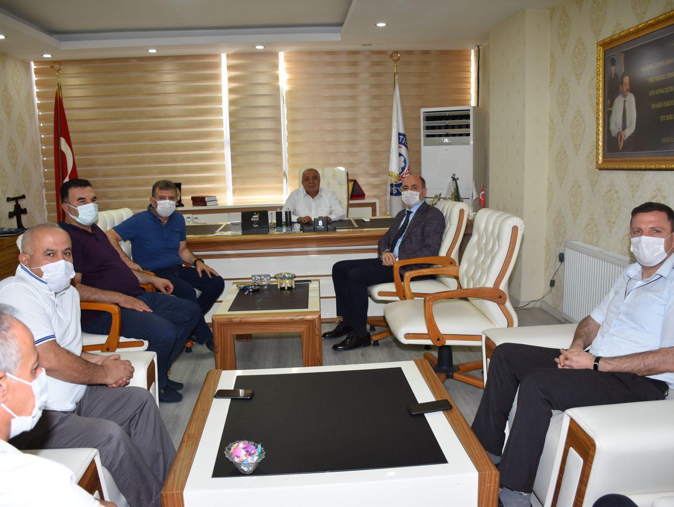'Mesleki Eğitim İşbirliği Projesi' İl Yürütme Kurulu Toplantısı Yapıldı 01.10.2020