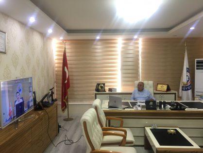 Borsamız Yönetim Kurulu Başkanı Arif GÜNEŞ, Doğu ve Güneydoğu Anadolu Bölge Toplantısına Katıldı. 30/09/2020
