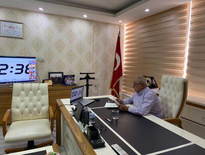 Yönetim Kurulu Başkanımız Arif GÜNEŞ, Lisanslı Depoculuk Toplantısına Katıldı. 05/10/2020